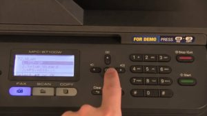 Brother Printer over the Network