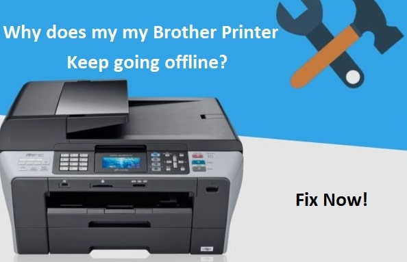 brother printer keeps going offline